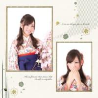 卒業式の写真台紙について(2Fフォトスタジオ)
