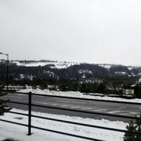 雪が解けて、また雪