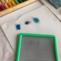 10分で描ける初めてのパステルアート♪