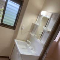 茨城県 牛久市 設備工事 トイレと洗面所