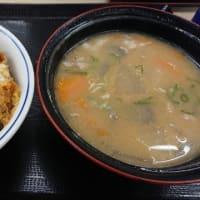 かつや「かつ丼(竹)+とん汁(大)」
