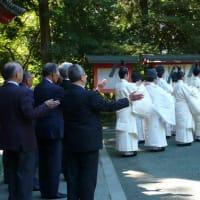 10月17日午前9時、神嘗奉祝祭を斎行いたします。