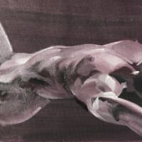 Nude-Muse-angel-Tableau-ヌード-芸術-アート-絵画:寝姿