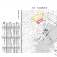 羽田空港飛行ルート変更、都心低空飛行でも飛行経路に建築制限はかけない不思議な制限水面の改正