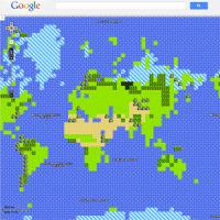 ファミコン版Googleマップ 8bit world