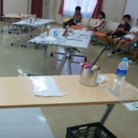 公民館主催の子ども夏休み工作