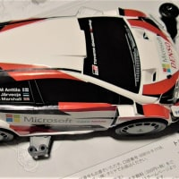 GRヤリス:WRC仕様組立てました・・・1日2時間、3日で完成!!