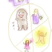 乙女と怪物 無邪気な子供と思慮深い老人