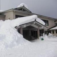 雪の妙高(新潟県)
