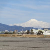2021年1月25日PM12:50分頃の富士山