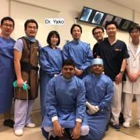 和歌山医科大学の八子先生が見学に来てくれました!