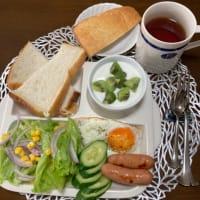 京都・たま木亭の食パンで朝食!!