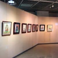 第四回 侊心会 仏画教室 作品展