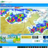 埼玉県で非常に激しい雨を観測東京や埼玉に竜巻注意情報