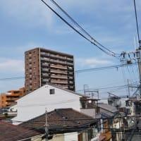 本日大阪東住吉・駒川上空ちと気になる地震雲