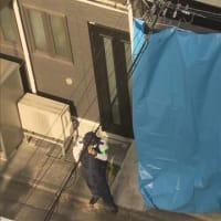 17日 アパートの階段一部崩れ 50代女性 転落し重体 東京 八王子