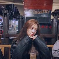 韓国のアイドルグループLABOUMご来店solbinちゃんです。