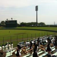 高校野球部は1回戦突破し、2回戦は惜しくも敗れました。