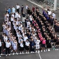 7・1 令和3年度 部活動壮行会「9年生の主張」(6/30)