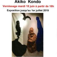 Akiko Kondo,近藤あき子、6月18日〜7月1日 2019
