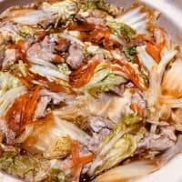 白菜のミルフィーユ鍋!