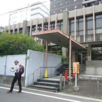 本日の大阪府庁前行動