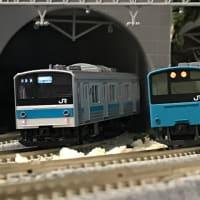205系京阪神緩行入線