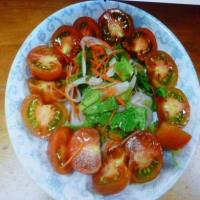 おばさんの料理教室 3色野菜のナムル