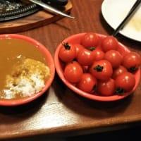 本日のディナーは閉店まで残り11日となったカウボーイ家族湯里店で。土曜日に入荷した柿は本日午後5時になくなったとか。残念。