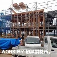 福島県再生賃貸住宅整備事業(大熊町) ~木工事スタート~