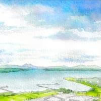 ◆霞ケ浦と筑波山・鳥瞰◆