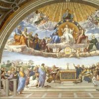 教皇ヨハネ二十二世は、啓示された「質料的教義」に反する異端説を唱えたが、聖伝の教えを信じる人々が教皇に公に反対して抵抗した。