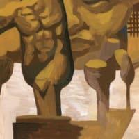 「サロン」展示15(アクリル画)