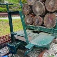 朗報 森林鉄道のディゼル機関車復活