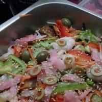 10、南国で作る素人サンマのエスカベッシュ:一般ではエスカベッシュ=  スペイン語エスカべッチェ