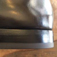 ハーフソール、ビンテージスチールのセット修理