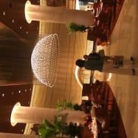 シャンソン歌手リリ・レイLILI LEY  ペニンシュラホテル東京の二階の中華料理店 夜のディナーコース