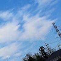 早朝の空模様♪