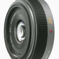 単焦点レンズ 20mmF1.7。