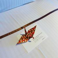 折り鶴のおもてなし