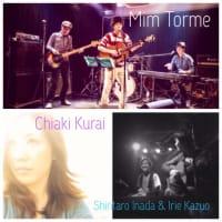 [Live Info] 7.12 (Sat) 長岡音楽食堂 with Mim Torme, Chiaki Kurai, Shintaro Inada