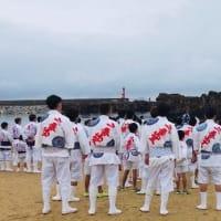 お汐井取り★笹山笠清祓