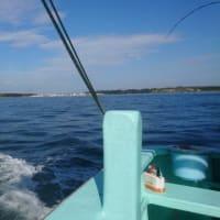 剣崎沖のイナダ五目釣り