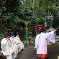 8月2日大東亜戦争終戦75年英霊感謝祭を斎行。