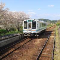 天竜浜名湖鉄道 春の車窓その3(2021年4月 円田一原谷)