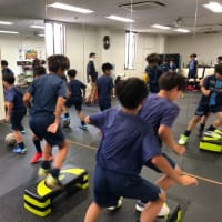 サッカーオリピック代表に負けるな!FC小田原トレーニング