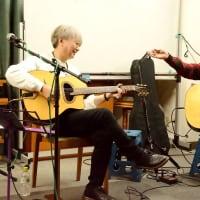 2019.11.30. Singing in the twilight the OSSANS 下村明彦・法田勇虫ライヴ(ギャラリー橋本)