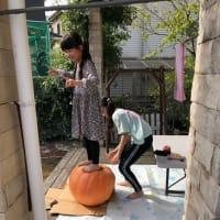 ハロウィンの準備