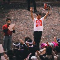 ミャンマー人の集会(名古屋)での私のスピーチが翻訳されました