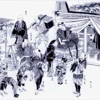 江戸の町 一人商売は口八丁手八丁で売りさばいた